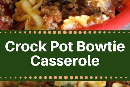 Crock Pot Bowtie Casserole