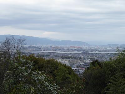星田妙見宮からの眺め