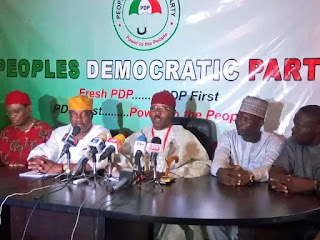 Politics: 'Fresh PDP' collapses, reunites with PDP