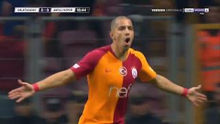 هدف سفيان فيغولي ضد انطاليا سبور 11-03-2019 الدوري التركي