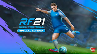 Download Real Football 21 Android Offline New Update Grass HD & Unlocked All Features