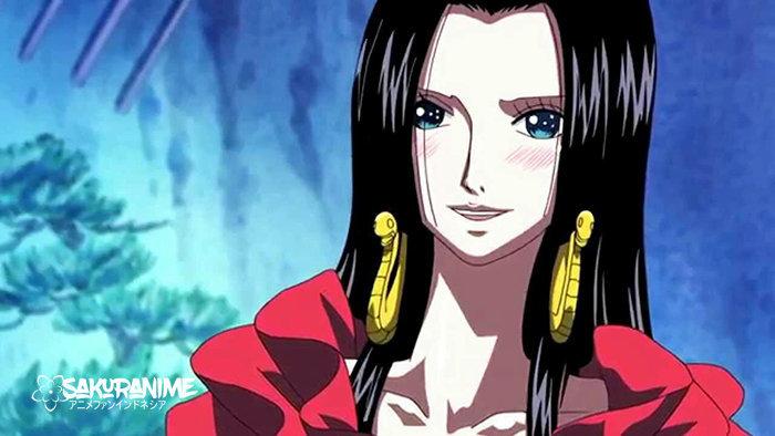 Boa Hancock (One Piece), Karakter Anime Tercantik