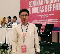 Fris Wahyuddin, Guru SMPN-13 Kobi Diundang Seminar Nasional Guru Dikdas Berprestasi
