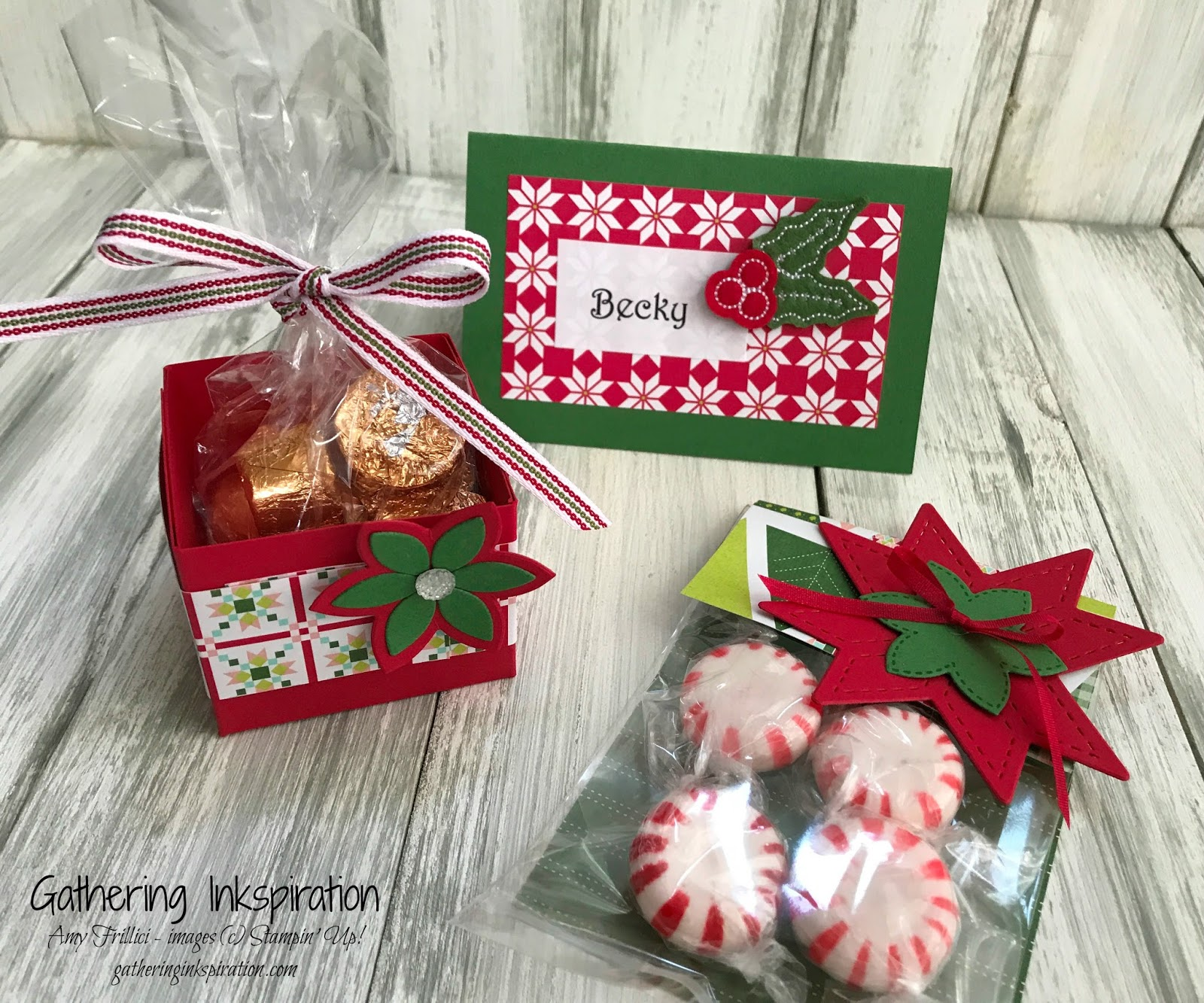 Gathering Inkspiration: Quilted Christmas Treat & Gift Ideas