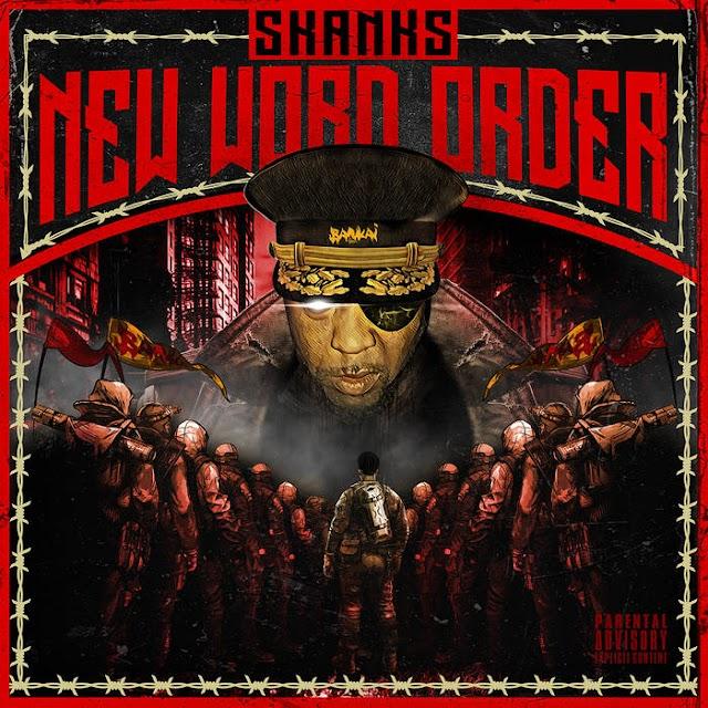 "Skanks the Rap Martyr 'New Word Order"" LP"