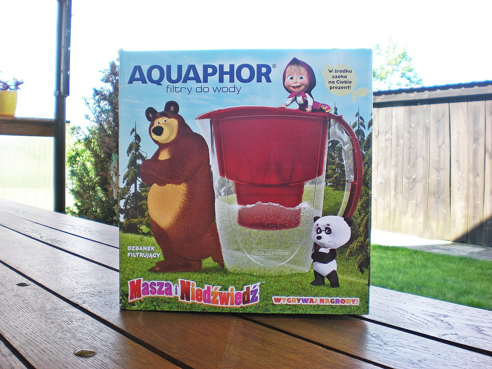 Aquaphor_Dzbanek filtrujący wodę