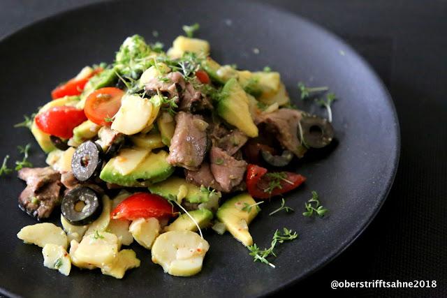 Kartoffelsalat sommerlich