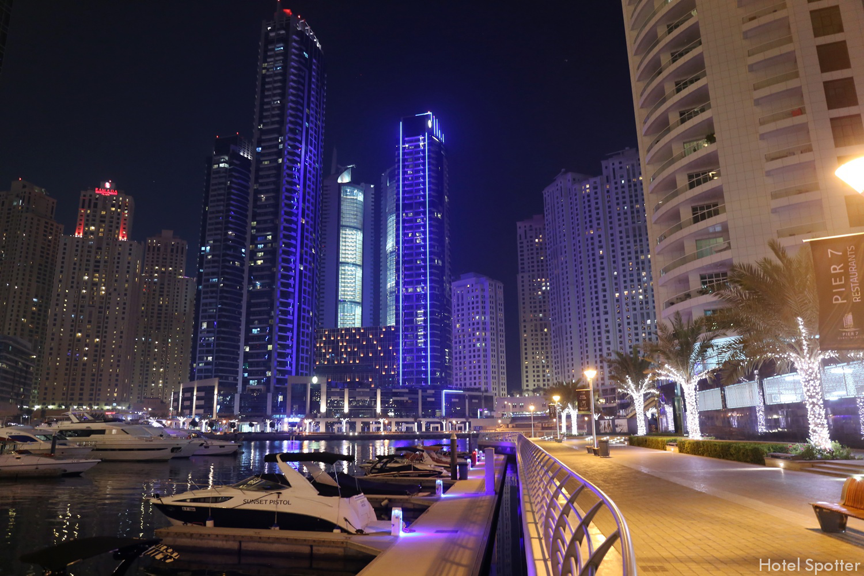 InterContinental Dubai Marina - recenzja hotelu - przystan