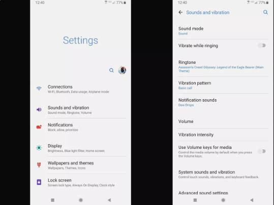 Cara Menyesuaikan Suara Notifikasi HP Samsung 3