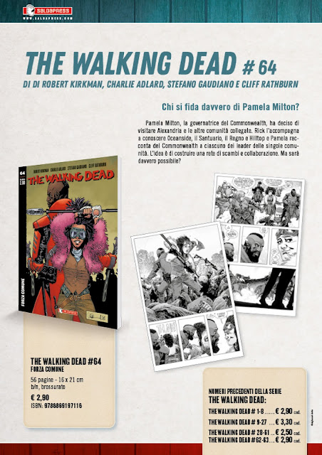 The Walking Dead #64 - Forza comune (tavole)