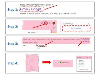 Google Chat Gmail Configure