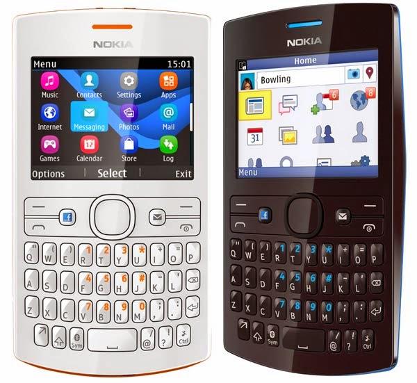 Harga dan Spesifikasi Handphone Nokia 205 Dual Sim - White and Black