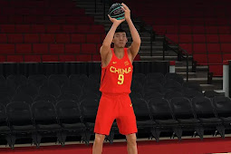 NBA 2K21 2016 Chinese Men's Basketball Olympic Jersey by Mudy