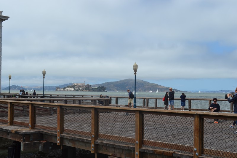 San Francisco, quais, Piers, californie