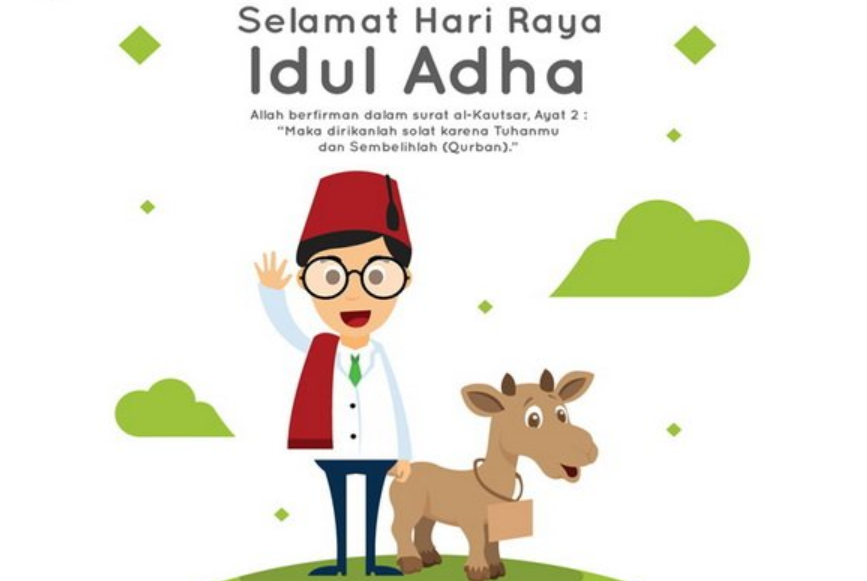 20+ Ucapan Selamat Hari Raya Idul Adha 2021 H / 1442 H Terbaru