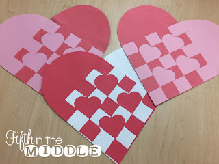 A fun heart weaving project