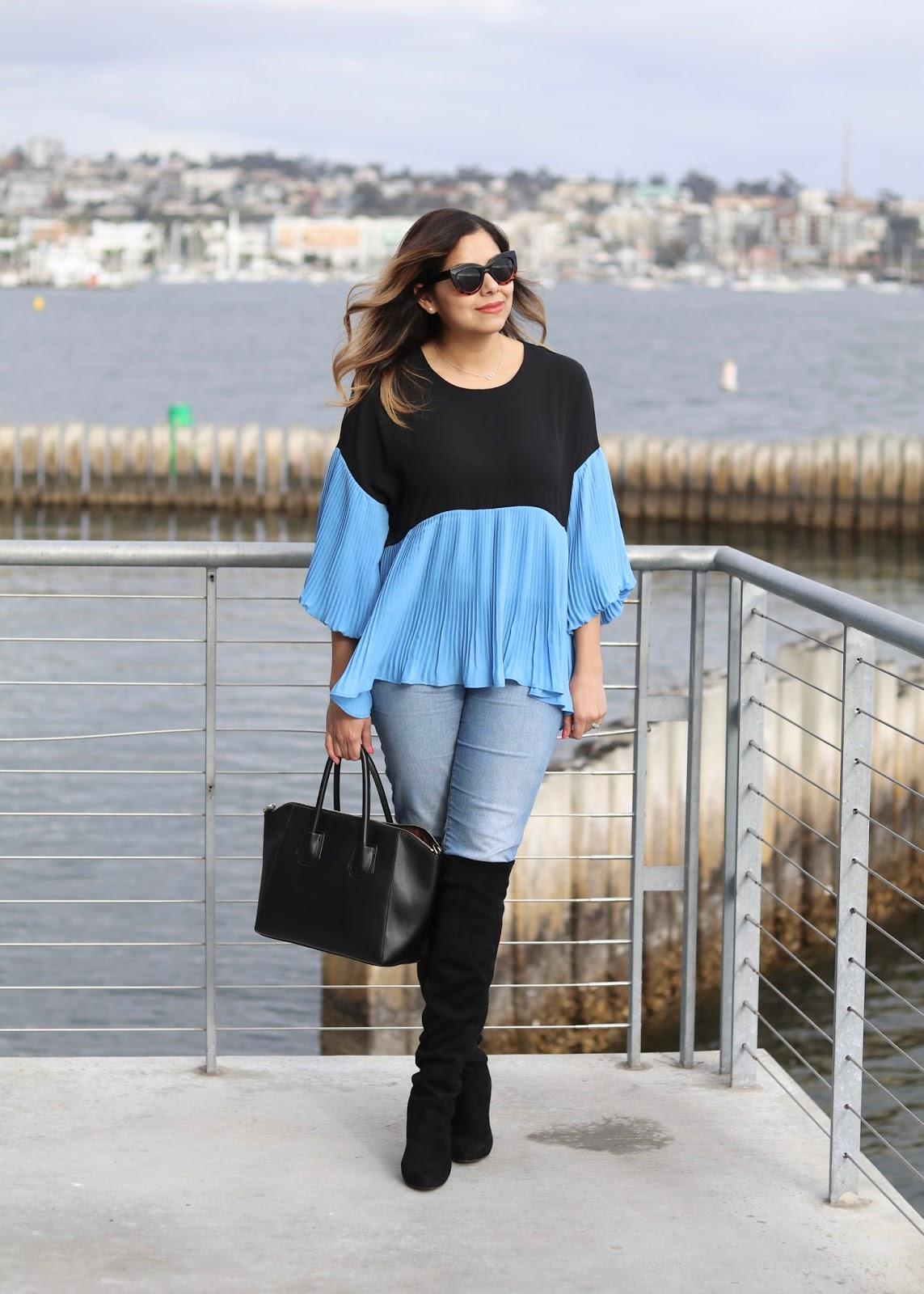 Chicwish Flowy Top, San Diego Fashion Blogger, San Diego style blogger