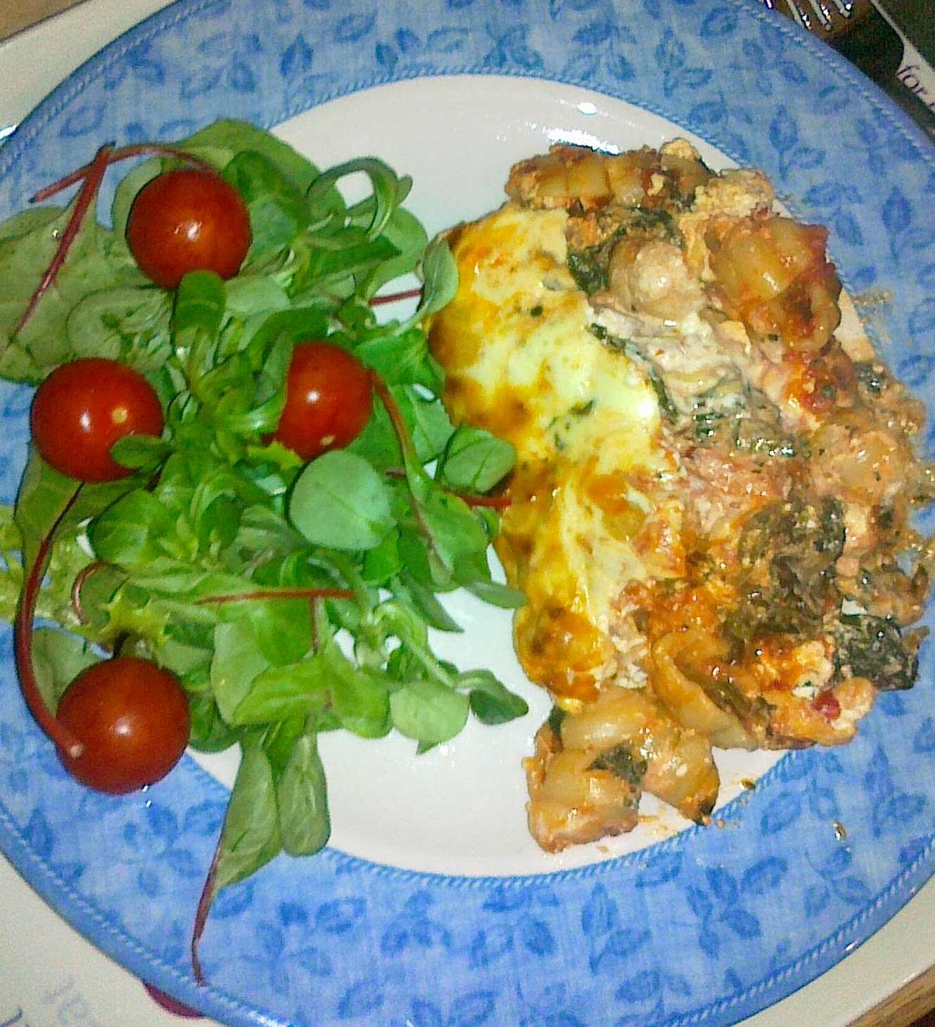 Pasticcio with Spinach & Feta