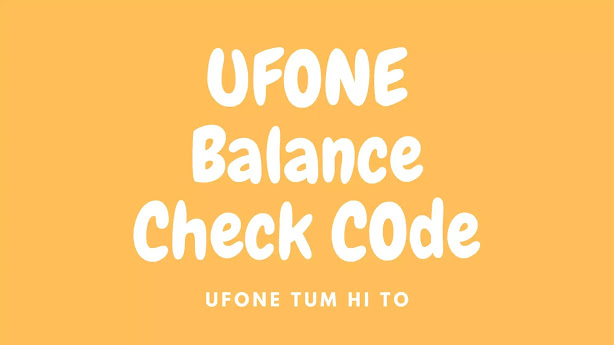 Ufone Balance - This is an era of connectivity and staying updated to everything happening around the world which can be made possible only by having a good mobile connection as well as internet service. Although all of the mobile networks are serving in the interest of customers but Ufone has always remained closer to heart for the users as it has provided them with the best packages in the most economical rates. Whether it is about SMS packages, call packages or that of internet packages, Ufone has proved itself a user friendly mobile connection throughout. About Ufone Ufone started its operations in 2001. It basically focuses on the people of Pakistan and working on the facilitation of their customers by endowing them with the relevant communication services that enable the users to do a lot more than just talk, at reasonable prices. It is not only the packages that have been winning the heart of users over the years for Ufone but also the amazing quality of uninterrupted signals and voice quality. Moreover, the telecom company offers simplified tariffs with no hidden charges to their customers. How to Check Ufone Balance? Most of us mix the balance check code with that of different packages subscription codes which makes it troublesome for people as they get their balance deducted unwantedly by subscribing to any specific package mistakenly. When we can't remember the code, we always find someone around who can tell us about the code in order to reduce the exercise of searching it all over the internet. However, here we have gathered details in a way that would be easiest for you to access and utilize any time you want to. Ufone Balance Check Code 2020 If you have recharged your account and want to check the balance but you don't know how to check Ufone balance then simply follow the below steps: Code to dial: *124# Go to the phone book and dial *124# to check the remaining balance. Now wait for a few seconds and then you will be able to see the remaining accoun