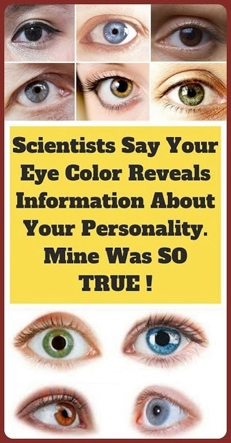 Researchers Explain What Your Eye Color Says About Your Personality
