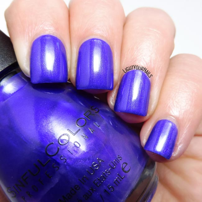 Smalto Sinful Colors Let's Talk nail polish