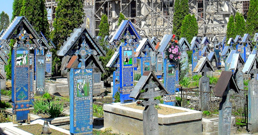 On Death And The Merry Cemetery in Transylvania