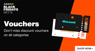 How To Get Discount Vouchers For Free on Jumia Black Friday 2020
