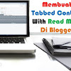 Membuat Tabbed Content With Read More Di Blogger