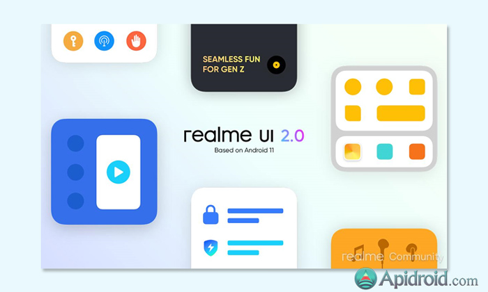 Realme UI 2.0 update based on Android 11 image