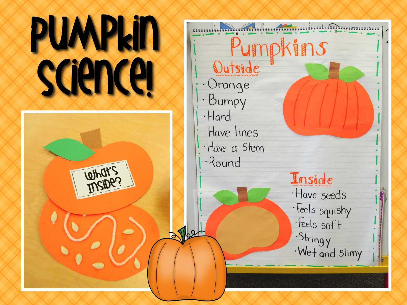 Mrs. Ricca's Kindergarten: Pumpkins Unit FREEBIE