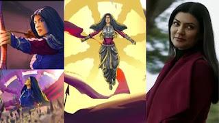 Sushmita sen 'aarya' got animated version