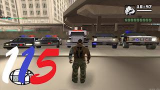 سلسله مودات MTA مود لطاش سيارة الشرطة 115#