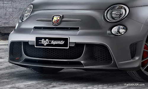 Abarth '695 biposto' front air dam