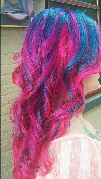astonishing hair color combinations