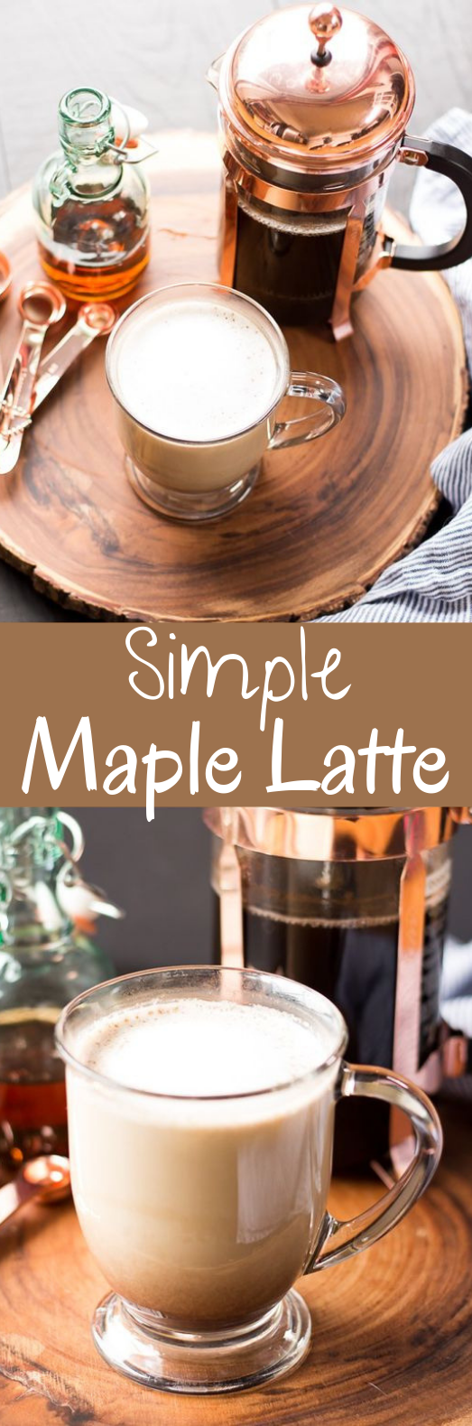Simple Maple Latte #drinks #latte