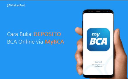 Deposito Online BCA Via Aplikasi MyBCA