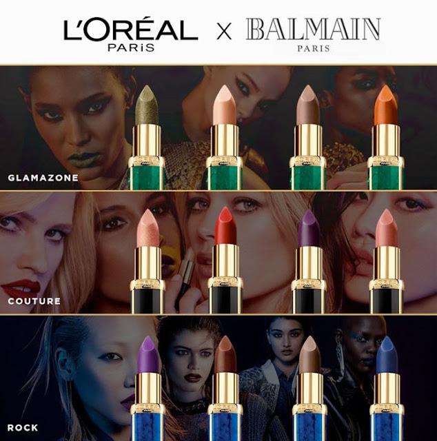 Loreal x Balmain