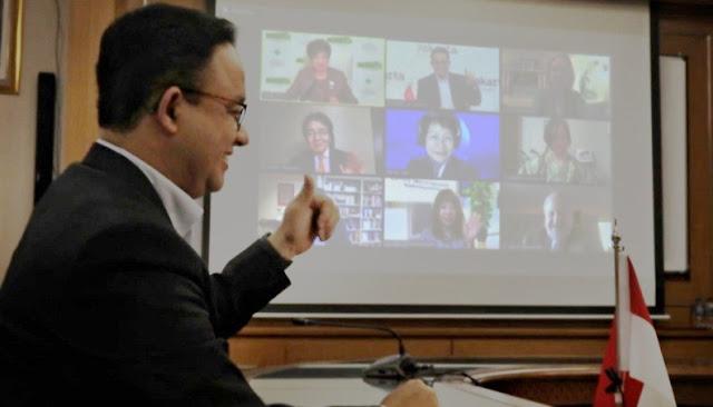 Anies Mulus Berbahasa Inggris di Forum Internasional, Netizen: Emang Pinter, Pemimpin Cerdas