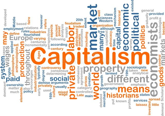 capitalism and communism fight still on