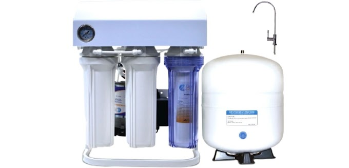 Easy Pure Standing Type REVERSE OSMOSIS Water Purifier With Cover EX-75