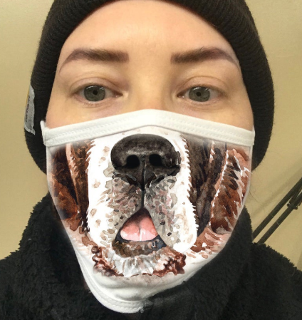 Ottawa mandatory facemask bylaw: Best facemasks for dog lovers on Etsy