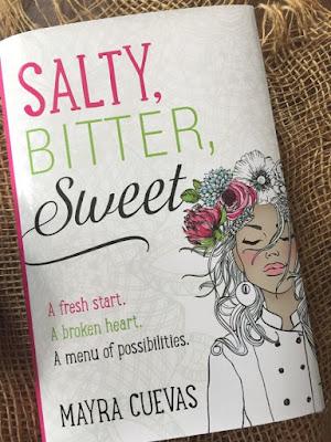 Salty, Bitter, Sweet by Mayra Cuevas #tlcbooktours