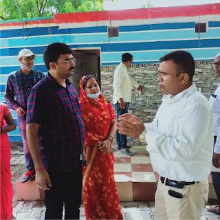 बीएसए ने बीआरसी सिकरारा समेत 3 विद्यालयों का किया निरीक्षण  | #NayaSaberaNetwork