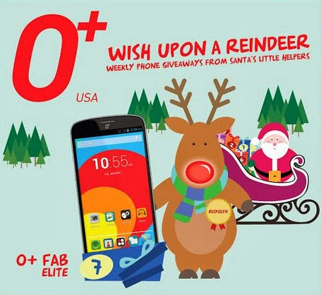 O+ Fab Elite Giveaway, Wish Upon A Reindeer