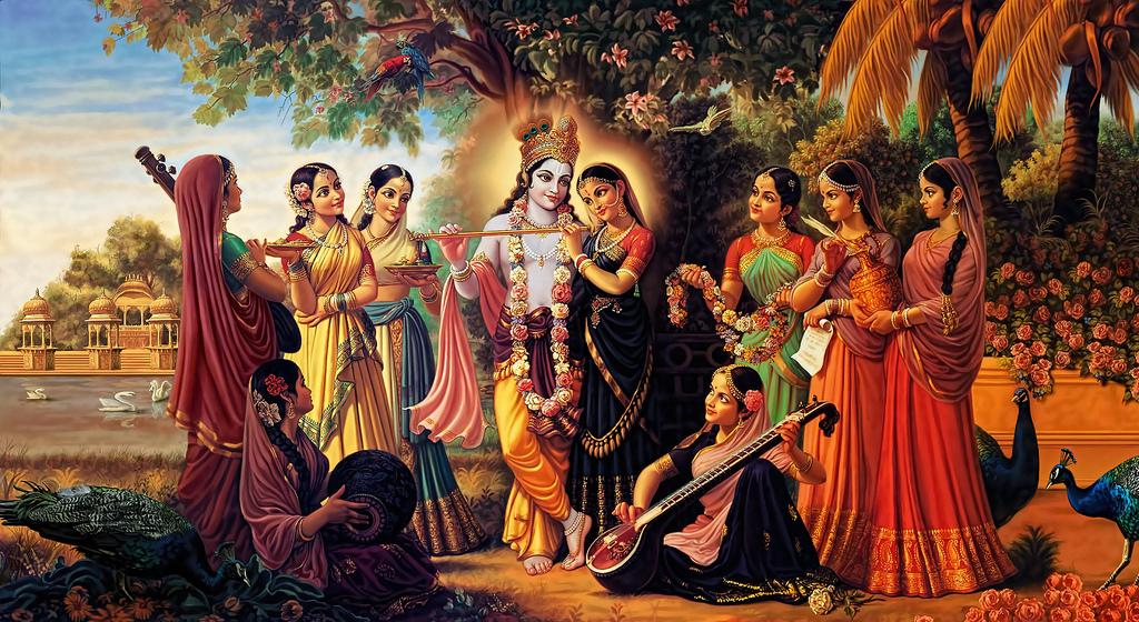 lovely radha krishna images