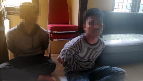 Dua Pemuda Asal Riau Diringkus  Kepolisian Tanjabbar Beseta Barang Bukti  Sabu Seberat 50,51 Gram