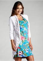 Jacheta tricotata în fire fine, cu o croială trendy (bonprix)