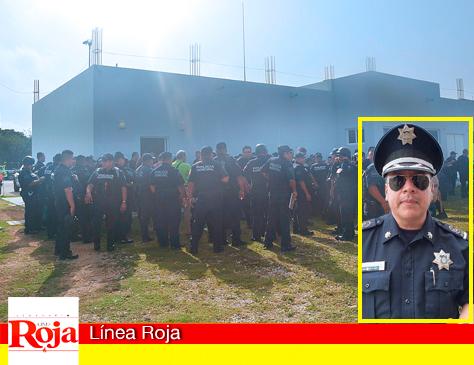 Están enojados los policías de Playa del Carmen por supuestos ascensos injustificados para consentidos y recomendados de Morales