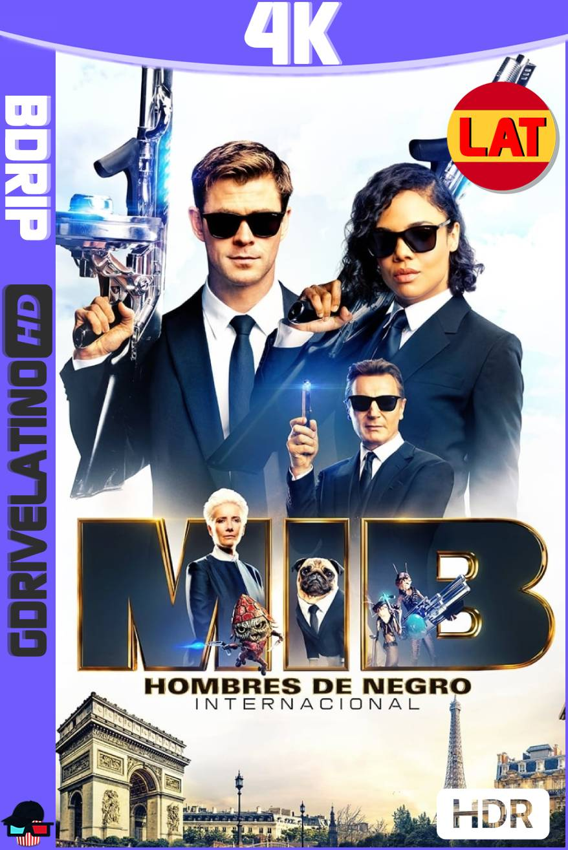 Hombres de Negro: Internacional (2019) BDRip 4K HDR Latino-Ingles MKV