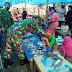 Cegah Covid 19 Mewabah, Personil Koramil Marioriawa Laksanakan Giat PDPK di Pasar Welonge